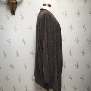 Barefoot Dreams Sweaters - Barefoot Dreams Drape Front Calypso Wrap Cardigan